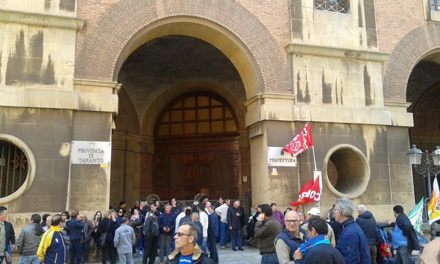 Taranto IsolaVerde lavoratori