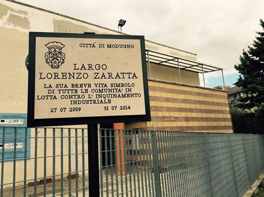 Targa Lorenzo Zaratta