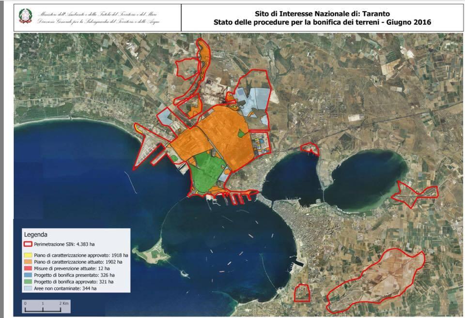 Bonifica sin Taranto