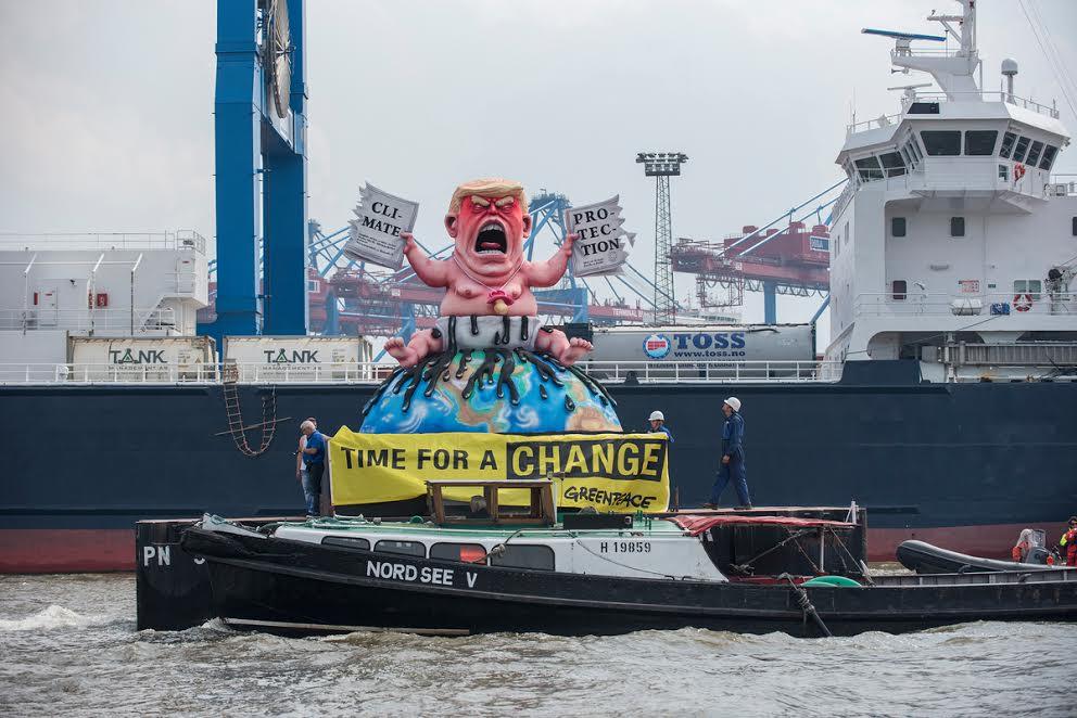 Greenpeace contro Trump