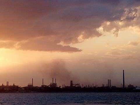Video wind day ilva Taranto
