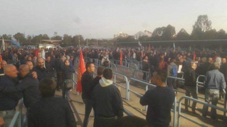 sciopero Ilva uilm
