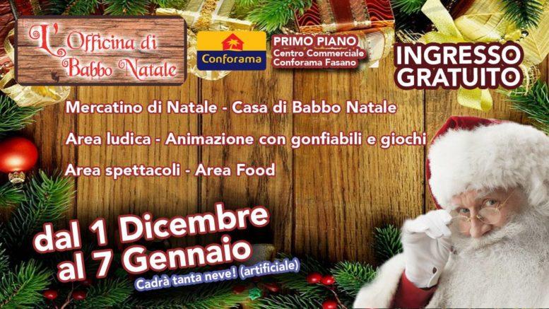Casetta Di Natale Gonfiabile : Arriva a fasano la fabbrica del divertimento con u201clofficina di